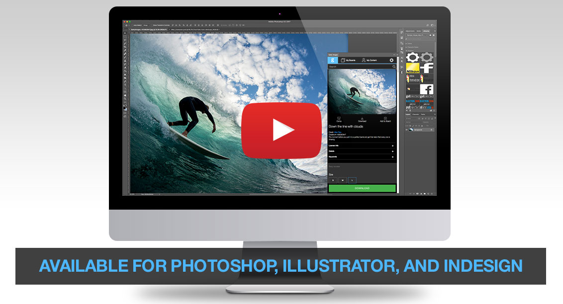 Getty Images Plugin Video
